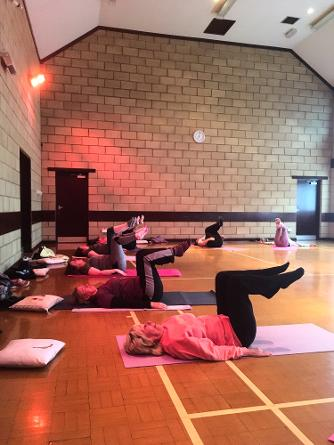Thursday evening Fitness Pilates